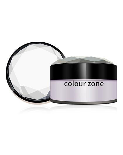 色彩地带防水修容蜜粉E款02#(微紫色)6g 微紫色