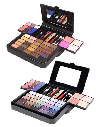 City ColorCity Color 百变46色彩妆组合 彩妆盘 持久 自然 不易脱妆 颜色多变 易上妆