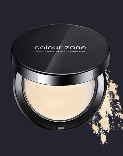 色彩地带色彩地带 丝滑保湿定妆粉饼  控油粉饼  持久定妆 自然色