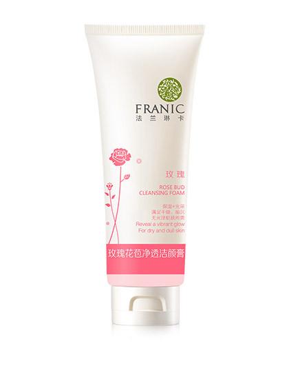 法兰琳卡玫瑰花苞净透洁颜膏120g 其它颜色