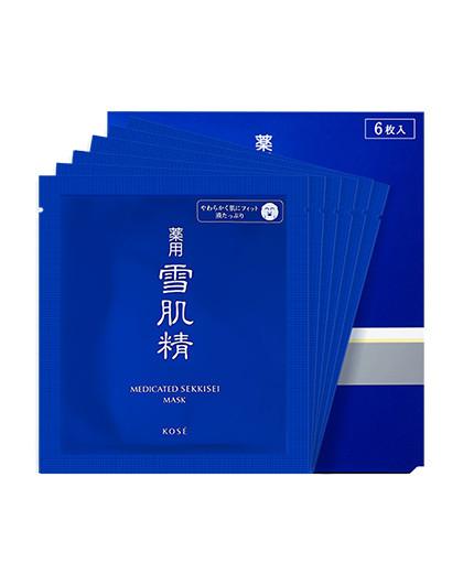 雪肌精【调理肌底】雪肌精 日本集中修护面膜6片/盒   改善干燥面膜 其它颜色