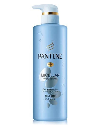 潘婷潘婷Pantene排浊赋能轻盈润发乳530ml无硅油护发素 无硅油 其它颜色