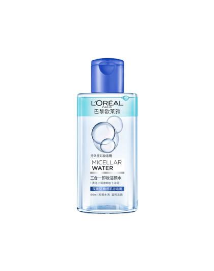欧莱雅欧莱雅卸妆魔术水 三合一卸妆洁颜水深彻型95ml 深层清洁 温和卸妆水