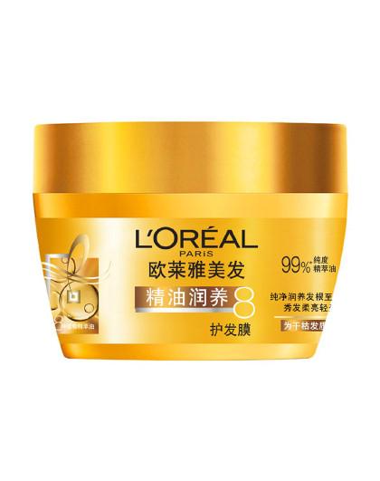 欧莱雅欧莱雅精油润养护发膜 250ml 精油润养 莹亮柔顺 深层滋养 护发膜