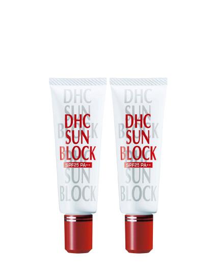 DHC【温和防晒】DHC蝶翠诗 防晒乳2件组 物理防晒提亮肤色