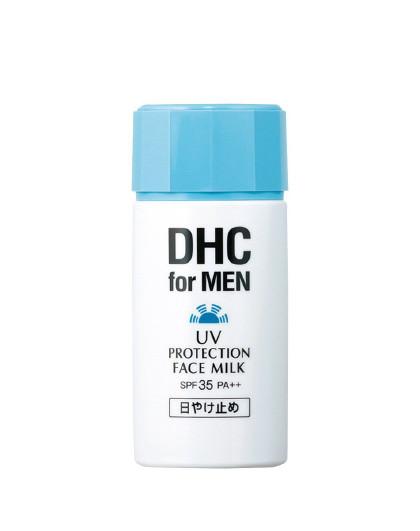 DHC【清爽不油腻】DHC蝶翠诗 男士清透防晒乳80ml 男女可用凝露防晒霜