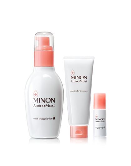蜜浓蜜浓MINON 保湿洁净优惠组 爽肤水  温和卸妆