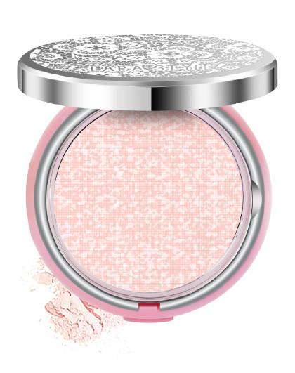 LarastyleLarastyle轻润丝滑粉饼11g(自然色)定妆粉 裸妆 保湿 自然 干粉 遮瑕 控油持久