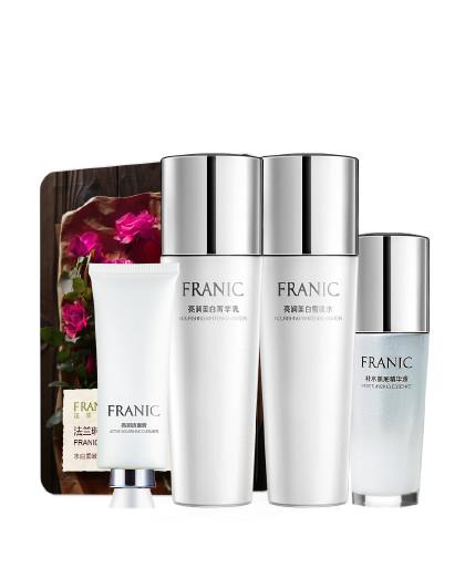 法兰琳卡法兰琳卡素方花亮润美白特惠套装 补水保湿提亮肤色