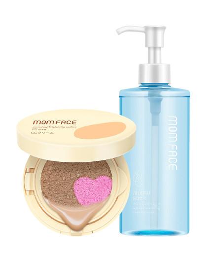 亲润亲润孕妇护肤品化妆品裸妆卸妆2件套装(双色CC霜+卸妆水) 其它颜色