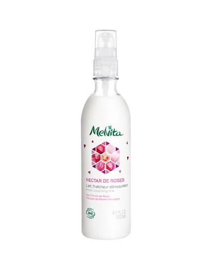 蜜葳特法国进口【深层卸妆】玫瑰精萃卸妆乳200ML 欧舒丹旗下 保湿滋润 温和洁面