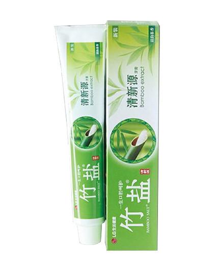 竹盐竹盐清新源牙膏150g 清韵茶香