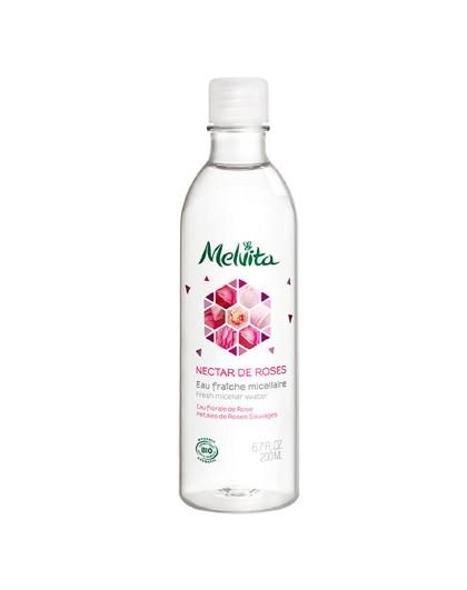 蜜葳特法国进口 玫瑰精华温和卸妆水 200ML 欧舒丹旗下 温和洁面 清洁眼唇 快速卸妆