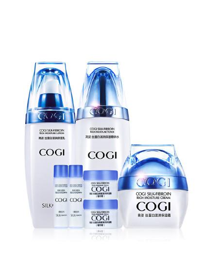 高姿高姿COGI 丝蛋白补水滋润护肤三部曲 护肤套装 补水 保湿