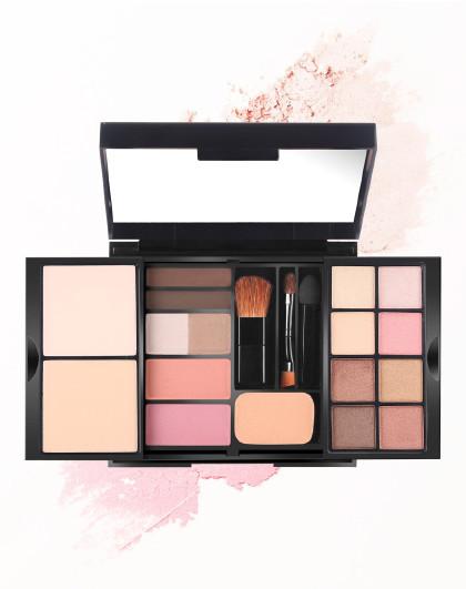 LarastyleLarastyle女神的魔盒 全套 彩妆盘 旅行装 粉底、眉粉、腮红、眼影、粉扑、工具刷
