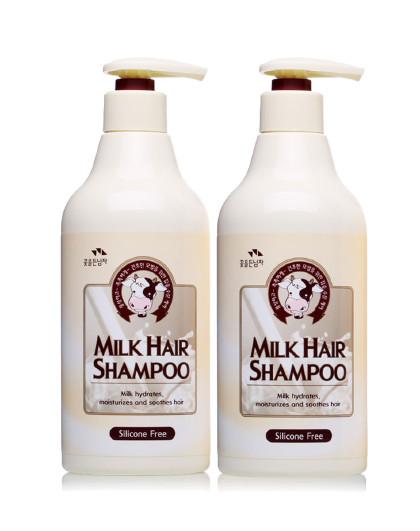 所望所望somang 无硅油牛奶滋养洗发水两只装 洗发水 其它颜色