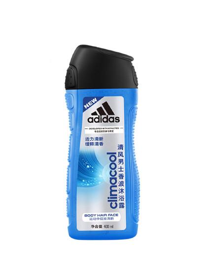 阿迪达斯阿迪达斯男士香波沐浴露400ml 温和清洁补水保湿