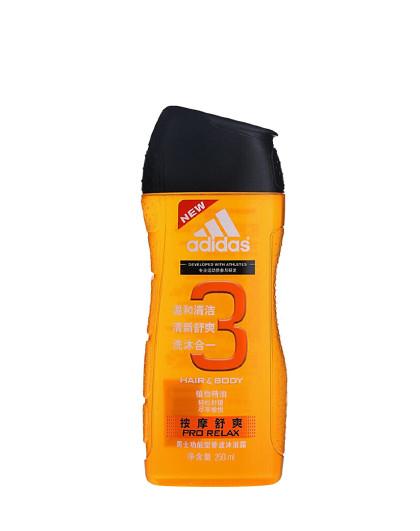 阿迪达斯阿迪达斯男士功能型香波沐浴露250ml 温和清洁补水保湿