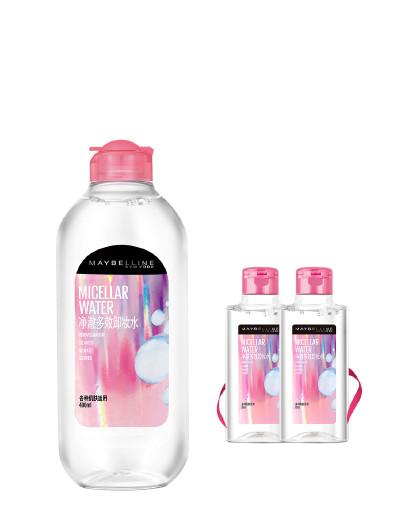 美宝莲美宝莲净澈多效卸妆水超值组合 清爽舒缓敏感性肌肤适用