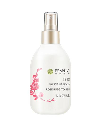 法兰琳卡玫瑰花苞水160ml爽肤水(清爽型)化妆水补水保湿滋润