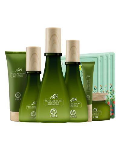 十月天使橄榄弹润滋养7件套 孕妈护肤品套装 保湿补水
