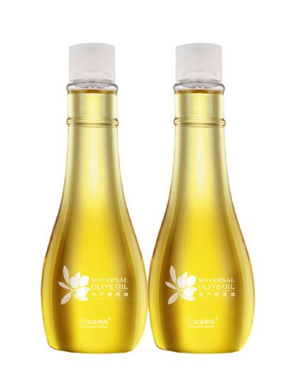 袋鼠妈妈袋鼠妈妈 孕产橄榄油两瓶装 孕妇护肤品孕妇化妆品孕妇橄榄油(防纹抚纹光滑肚皮)