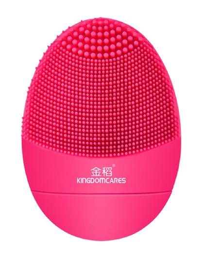金稻金稻 声波洁面仪KD308B(电动硅胶洁面仪 玫红色 升级版) 枚红色
