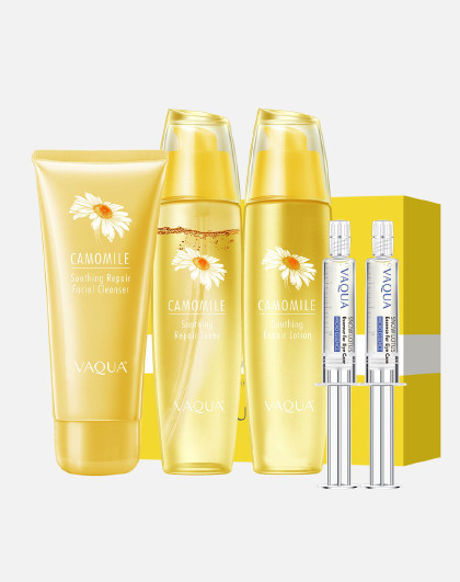 活泉活泉洋甘菊舒护安肌礼盒 改善肌肤敏感 补水护肤品套装