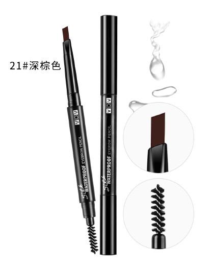 薇欧薇薇欧薇VOV丝滑防水眉笔  0.26g 防水 持久 三角形眉笔 塑造自然眉形 深棕色21#