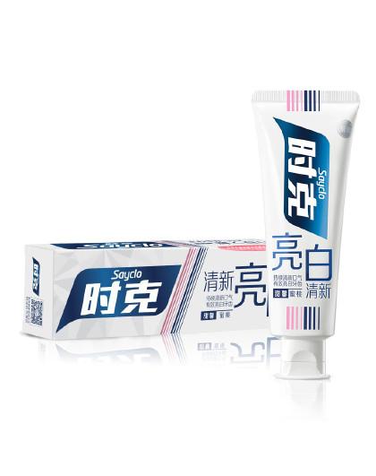 时克时克sayclo 【甜馨蜜桃 清新亮齿】亮白清新牙膏(蜜桃香型)100g