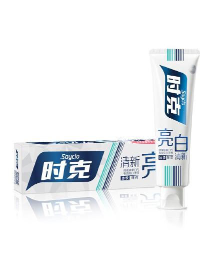 时克时克sayclo亮白防蛀护牙龈薄荷清新口腔牙膏(薄荷香型)165g
