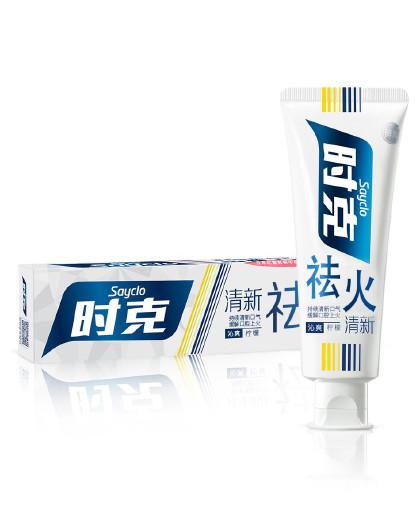 时克时克sayclo 【清新祛火 健齿护龈】祛火清新牙膏(柠檬香型)100g