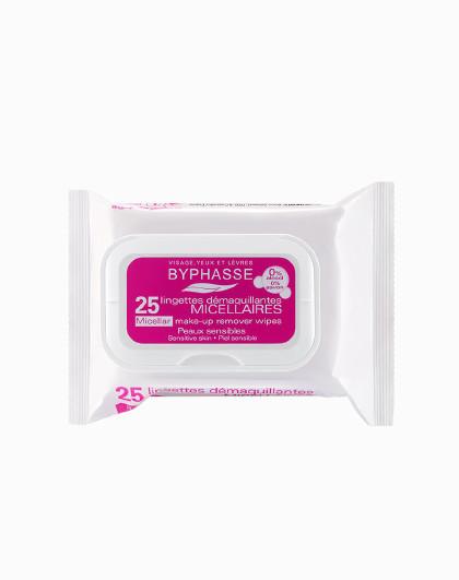 蓓昂丝蓓昂丝 BYPHASSE 温和净肤清洁卸妆湿巾 25片 洁面  保湿 便捷 旅行装 粉色