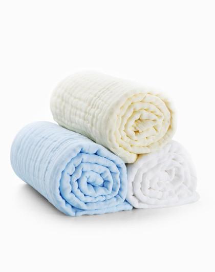 子初婴儿浴巾120cm 加厚柔软吸水大毛巾儿童宝宝盖毯浴巾