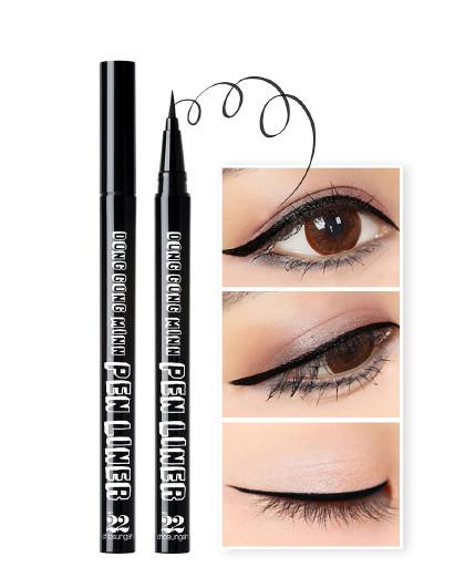 潮盛雅 22潮盛雅22 瞳孔美人防水眼线液笔0.5g 持久防水极细眼线笔